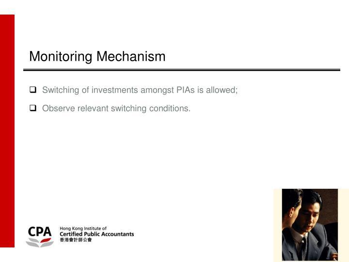 Monitoring Mechanism