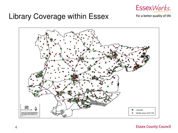 Library Coverage within Essex