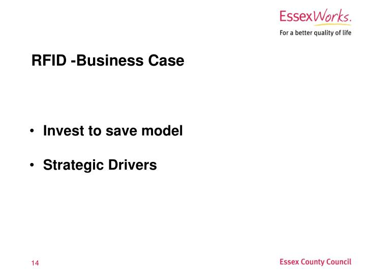 RFID -Business Case