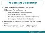 the cochrane collaboration1