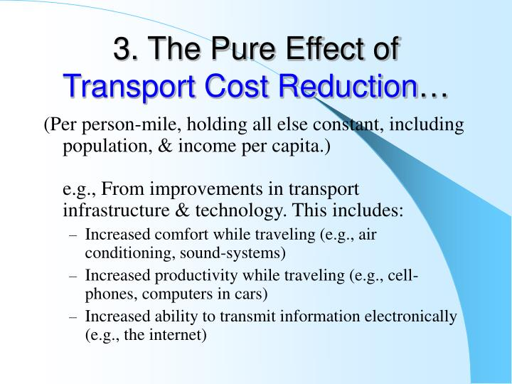 3. The Pure Effect of