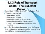 4 1 3 role of transport costs the bid rent curve