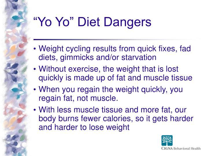 """""""Yo Yo"""" Diet Dangers"""