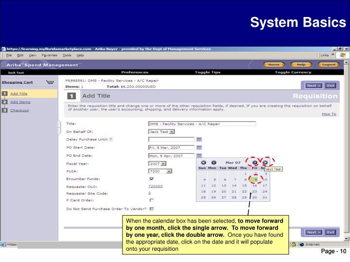 System Basics