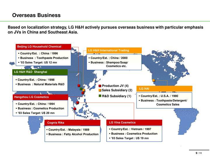 Overseas Business