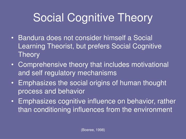 powerpoint presentation behaviorism and social learning theory The social learning theory of julian b rotter (1916 - 2014) as the name social learning theory suggests, the social environment is of primary importance in shaping our behavior social outcomes, such as approval, love or rejection.