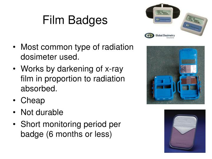 Film Badges