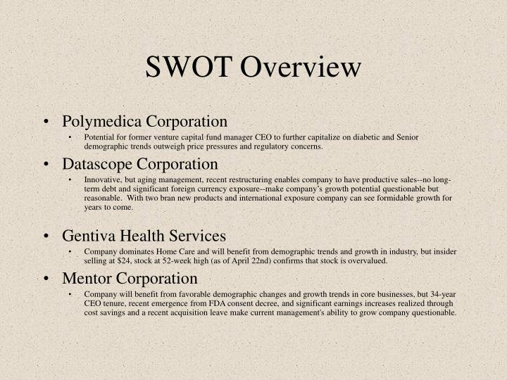 SWOT Overview