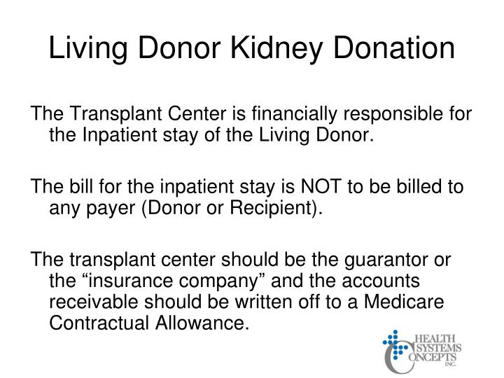 Living Donor Kidney Donation