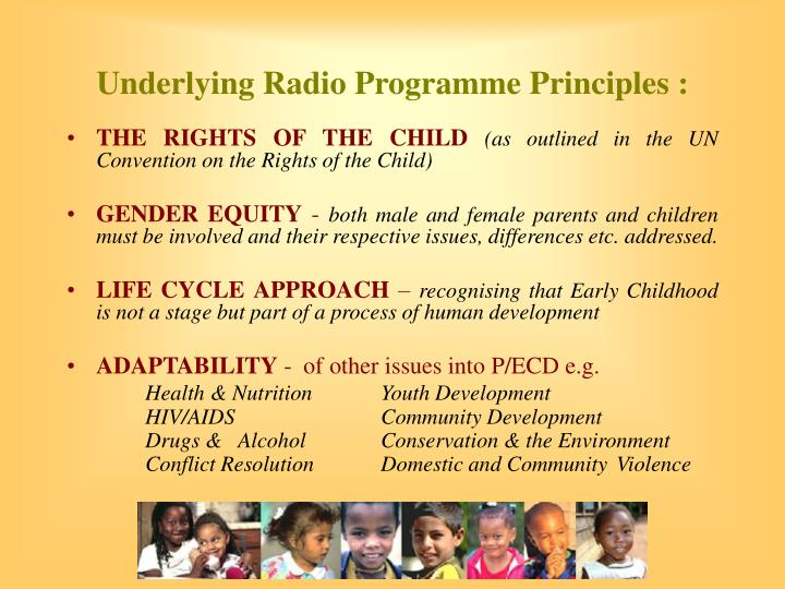Underlying Radio Programme
