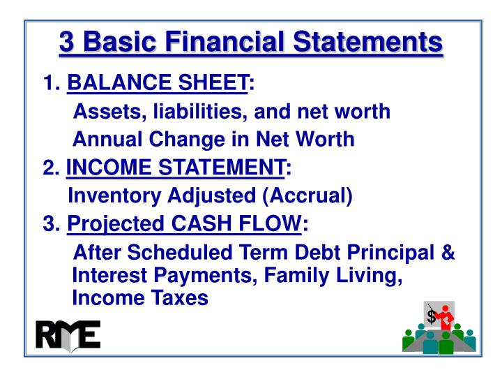 3 Basic Financial Statements