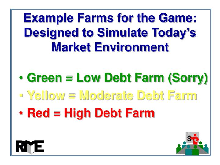 Example Farms for the Game: