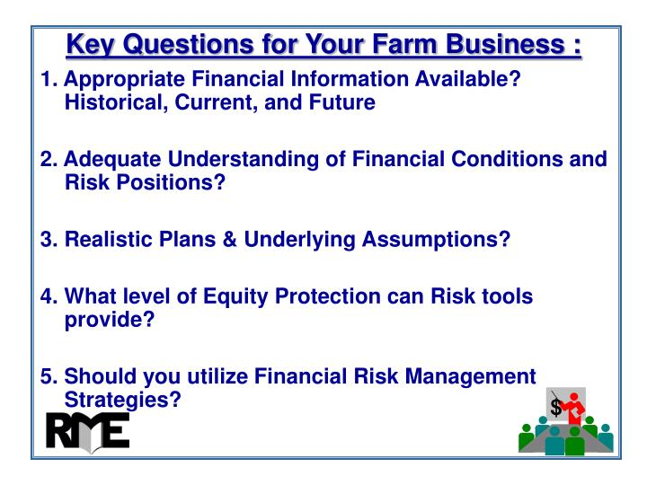 Key Questions for Your Farm Business :