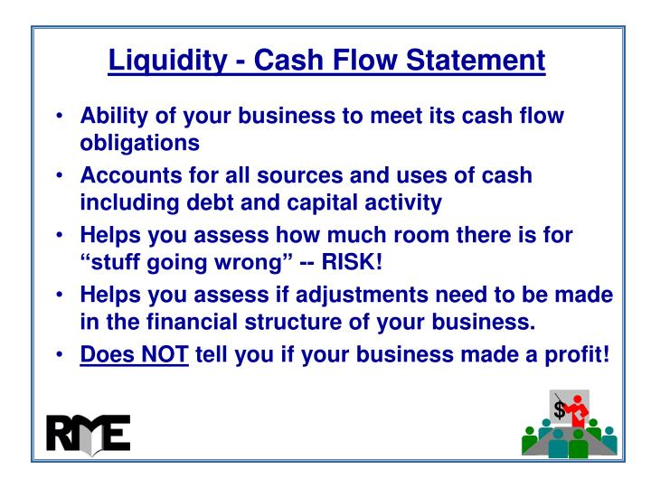 Liquidity - Cash Flow Statement