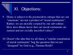 xi objections5
