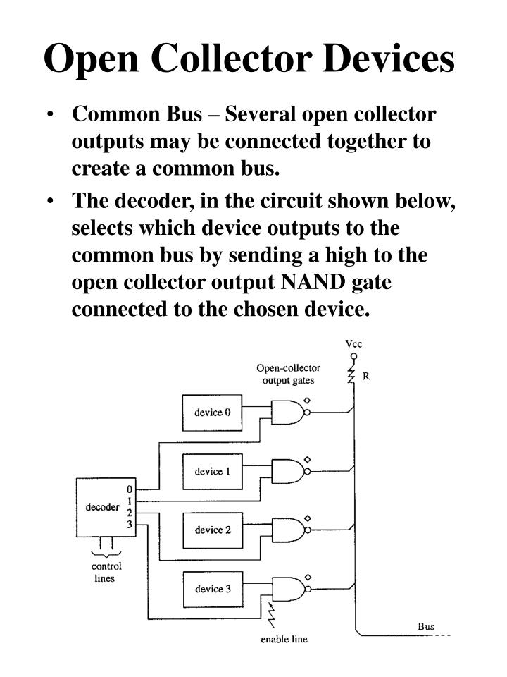 Open Collector Devices