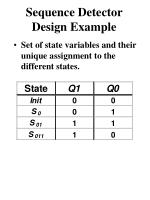 sequence detector design example1