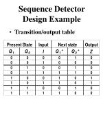 sequence detector design example2