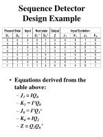 sequence detector design example4