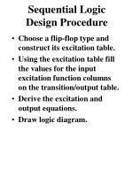 sequential logic design procedure1