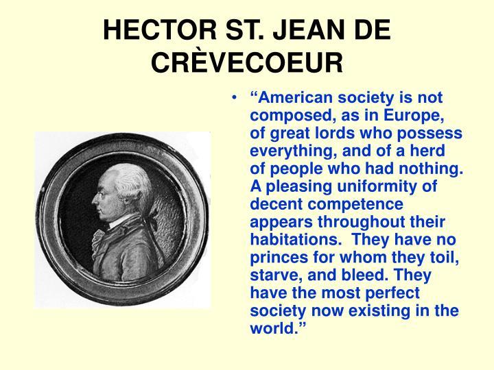 HECTOR ST. JEAN DE CR