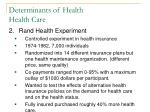 determinants of health health care6