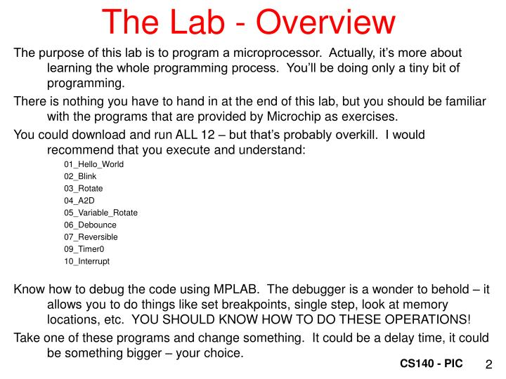 The Lab - Overview