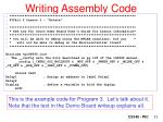 writing assembly code1