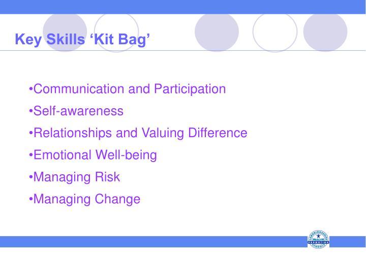 Key Skills 'Kit Bag'