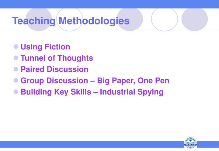 Teaching Methodologies