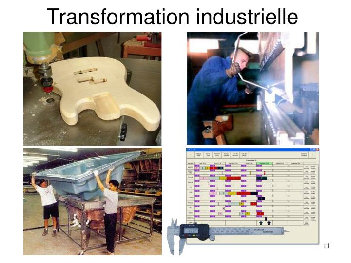 Transformation industrielle