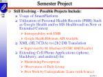 semester project