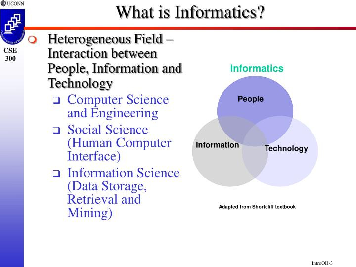 What is informatics1