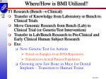 where how is bmi utilized