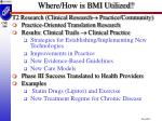 where how is bmi utilized3