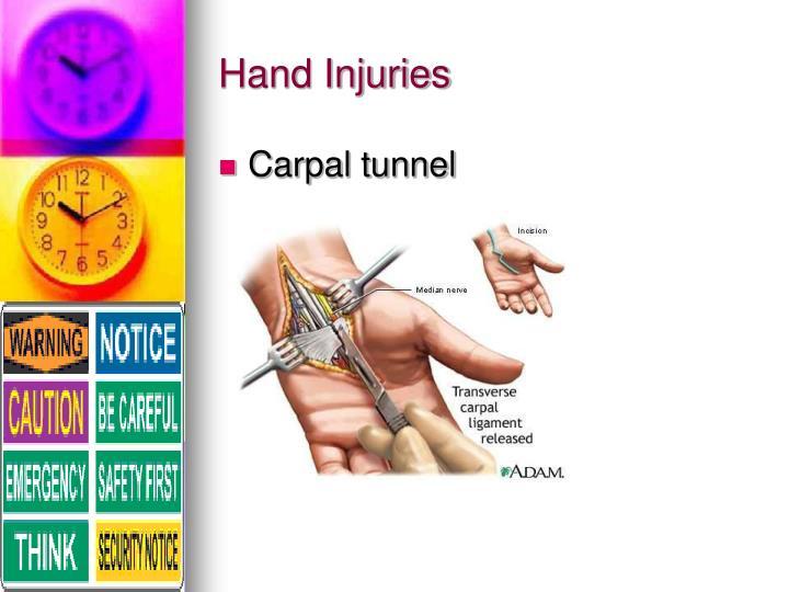 Hand Injuries