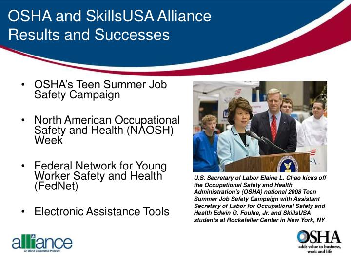 OSHA's Teen Summer Job Safety Campaign
