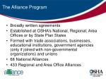 the alliance program