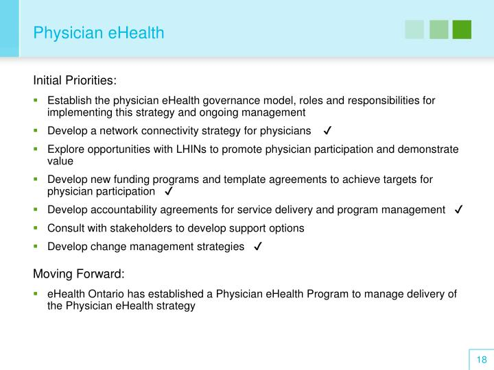 Physician eHealth