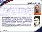notorious killers