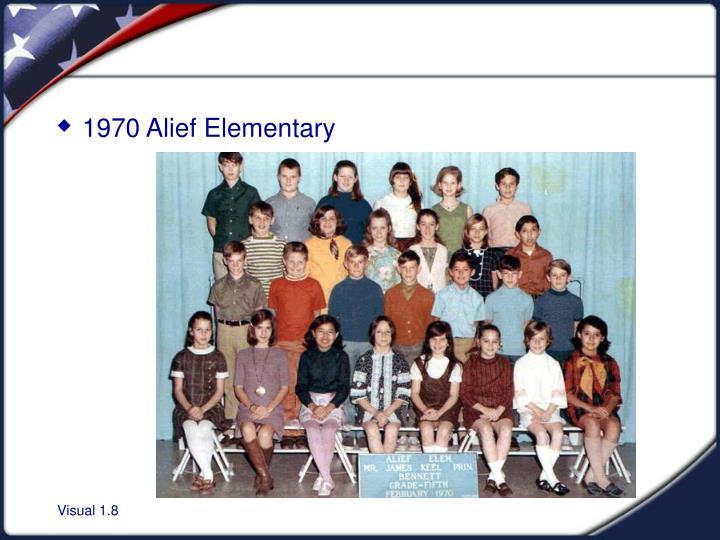 1970 Alief Elementary