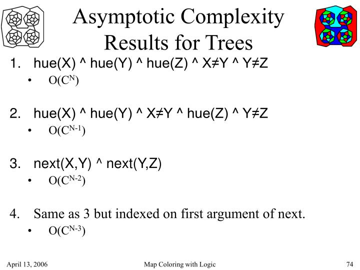 Asymptotic Complexity Results for Trees