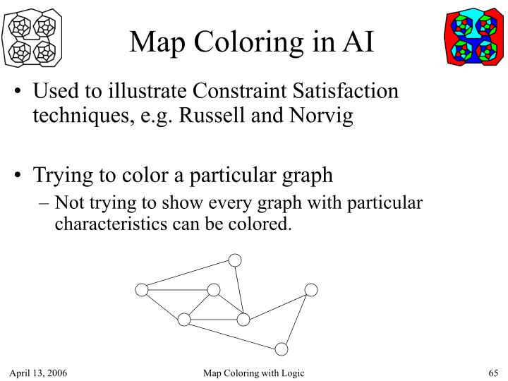 Map Coloring in AI