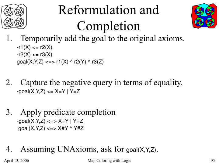 Reformulation and Completion