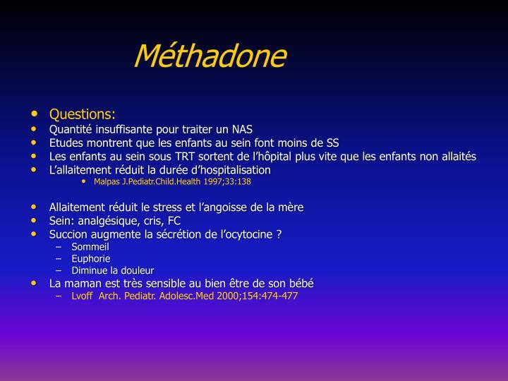 Méthadone