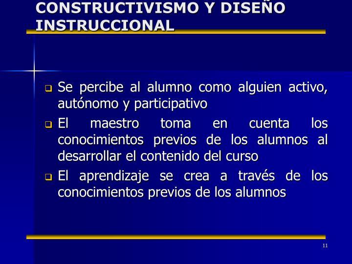 CONSTRUCTIVISMO Y DISEÑO INSTRUCCIONAL