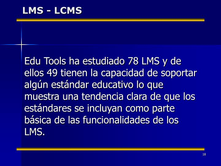 LMS - LCMS