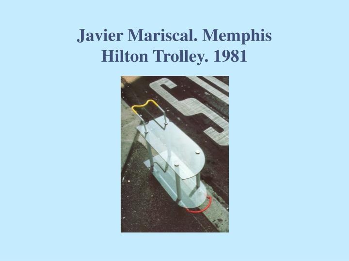 Javier Mariscal. Memphis