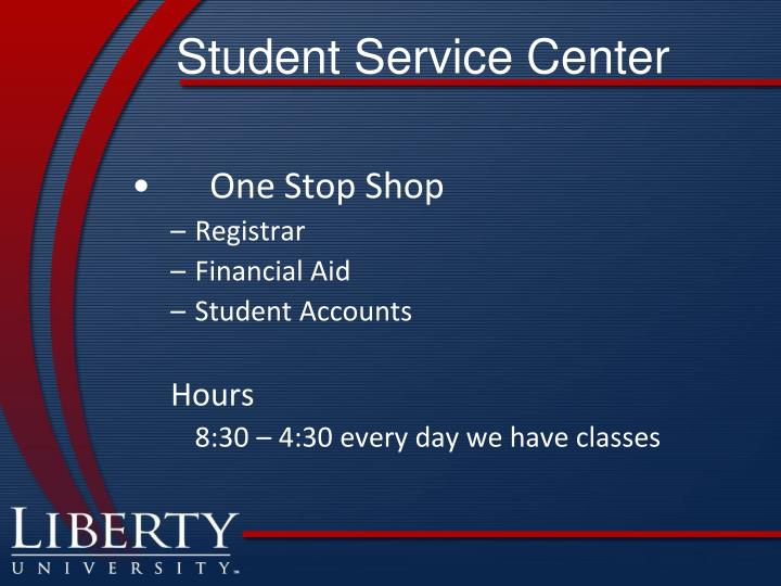 Student Service Center