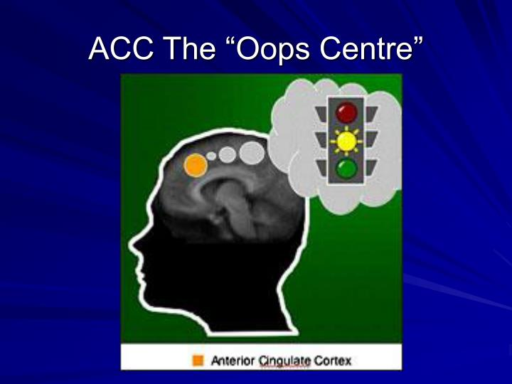 """ACC The """"Oops Centre"""""""